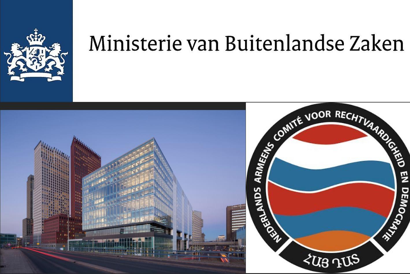 Petitie overhandig Ministerie van Buitenlandse Zaken 24 september 2021